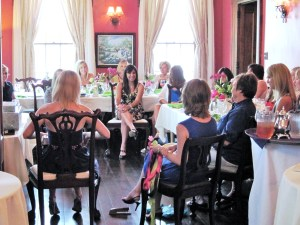 Bridal Showers are elegant and comfortable at the R.L. Wilson House