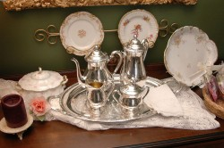 Elegant Private Tea Service Available