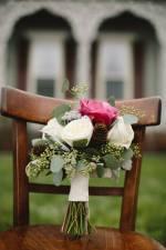 bridal boquet rl wilson house front