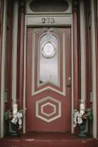 front door wedding reception rl wilson house