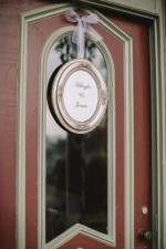front door with frame close up rl wilson house