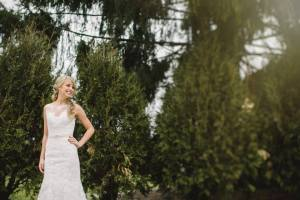 rl wilson bride and greenery